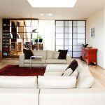 Sofa, Wohnzimmer, Kamin