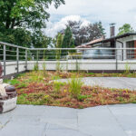 Terrasse Asiatisch Steingarten
