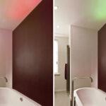 Badezimmer freistehende Badewanne