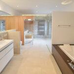 Badezimmer Sauna mediterran