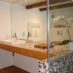 Badezimmer Waschtisch Mosaik