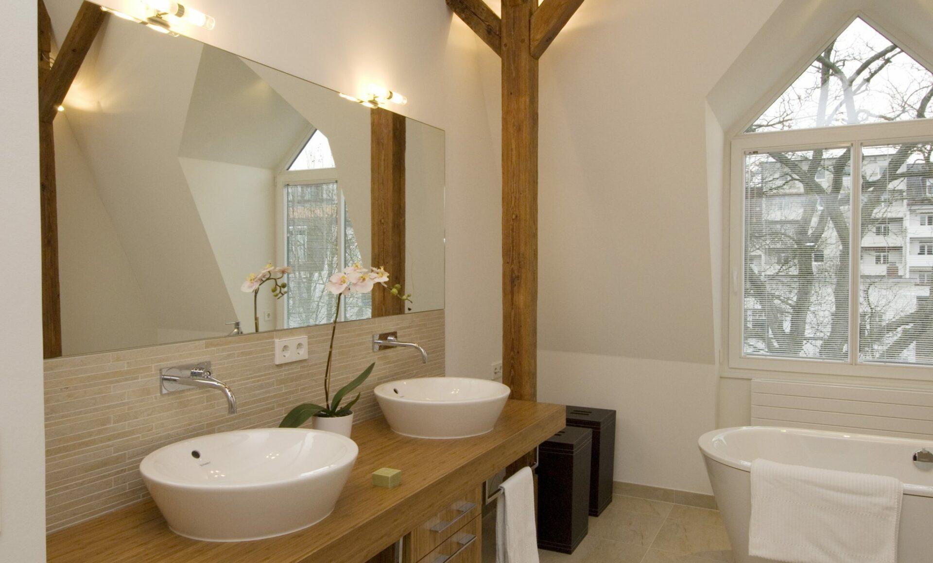 Badezimmer Waschtisch Badewanne