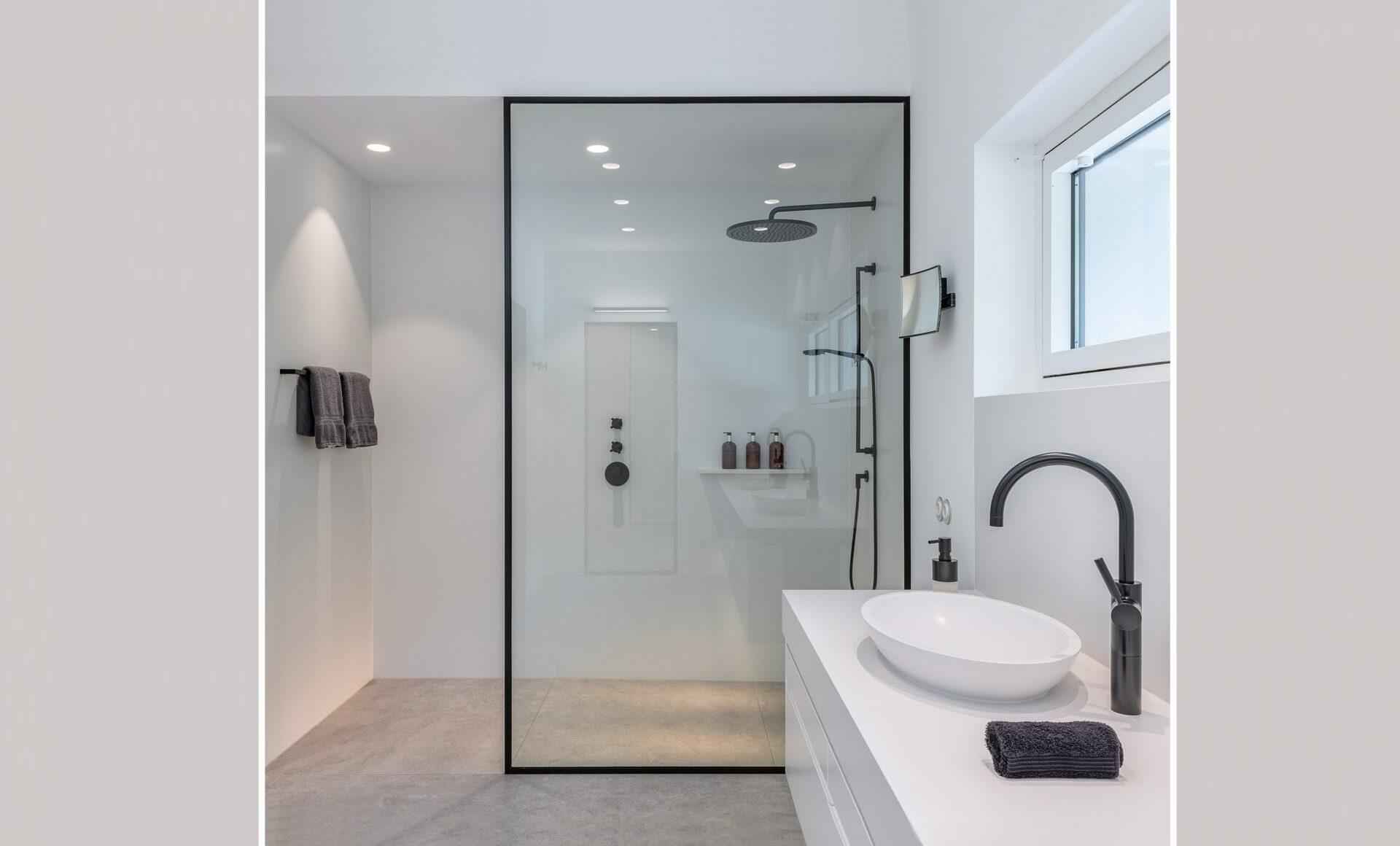Badezimmer weiß Industrial