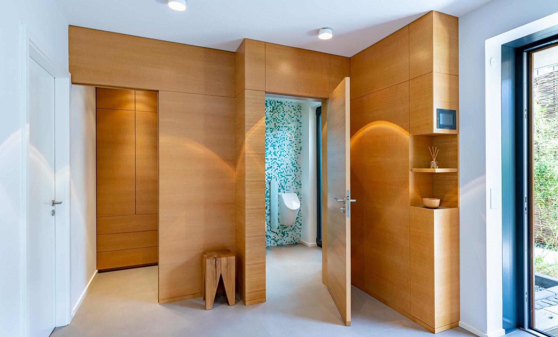 Eingangsbereich Wandschrank Garderobe
