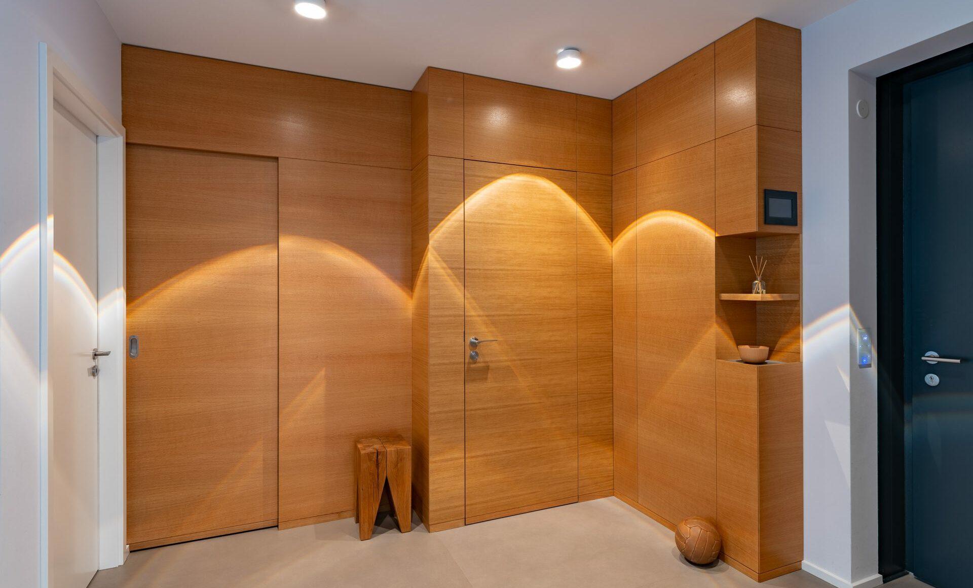 Eingangsbereich Wandschrank Einbauschrank