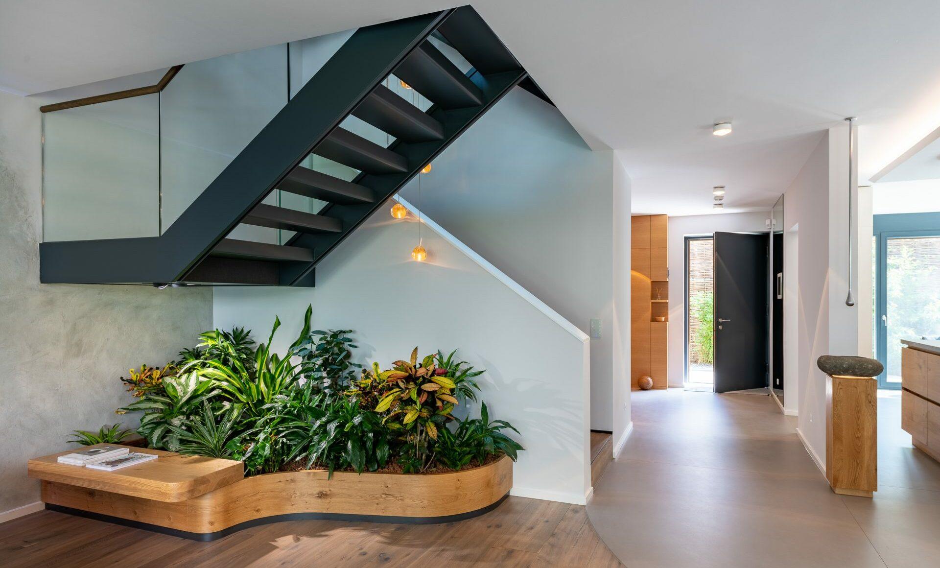 Treppenhaus Indoor Beet Eingangsbereich