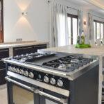 Gasherd Küchenblock