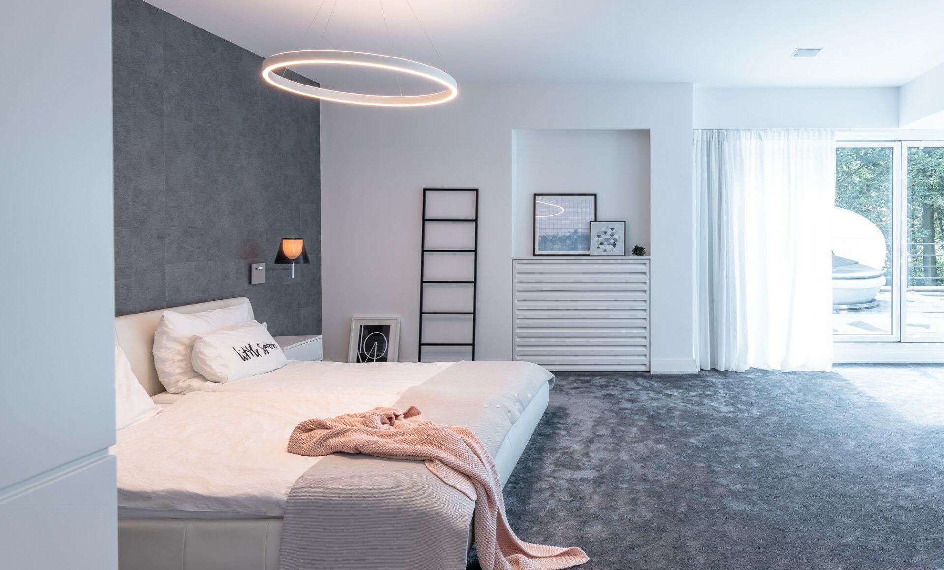 Schlafzimmer Tepppich Licht