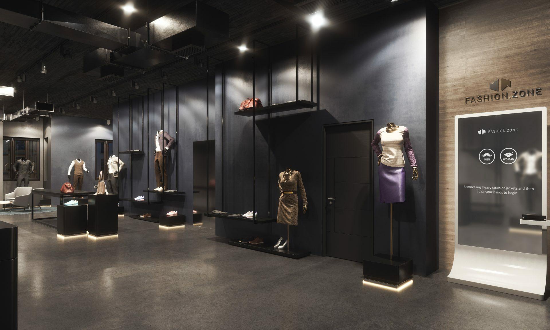 Retail Design Fashion Shopkonzept