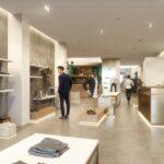Fashion Zone Retaildesign Interior Marmor Gold