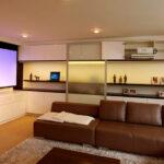 Smart Home Kino Leinwand