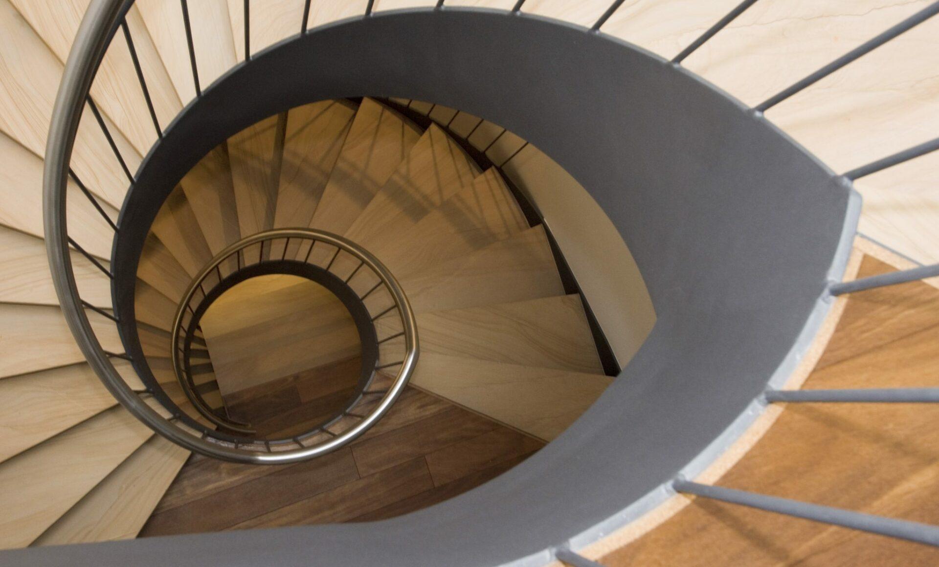 Treppenhaus Wendeltreppe